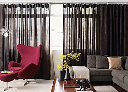 Como escolher modelos de cortinas ideias