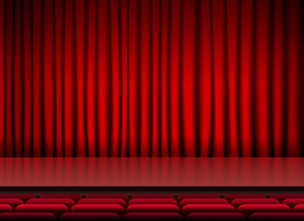 cortina para auditório