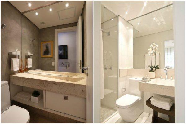 9 Passos para transformar seu banheiro simples em uma sala de banho de luxo