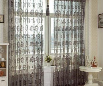 Cortina de renda para sala: dicas de decoração