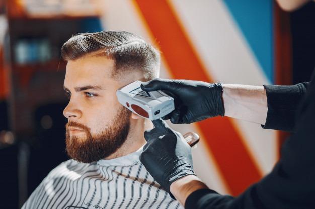 Papel de Parede de Barbearia